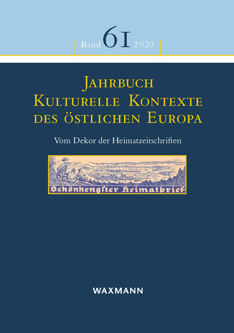 jahrbuch kulturelle kontexte 61